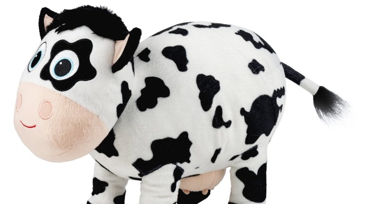 Cassandra the Plush Cow