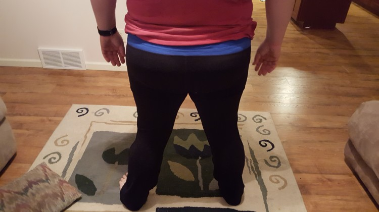 #YogaPantChallenge with Depend® Active Fit